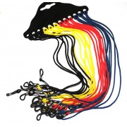 Optek Cords Mixed Colours 12 pcs